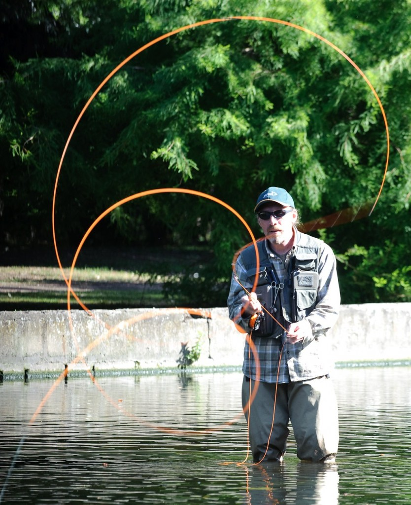 Alex Flyfishing Fly casting tuition